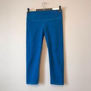 Fabletics blue capris size XS